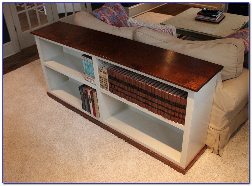 Bookcase Sofa Table