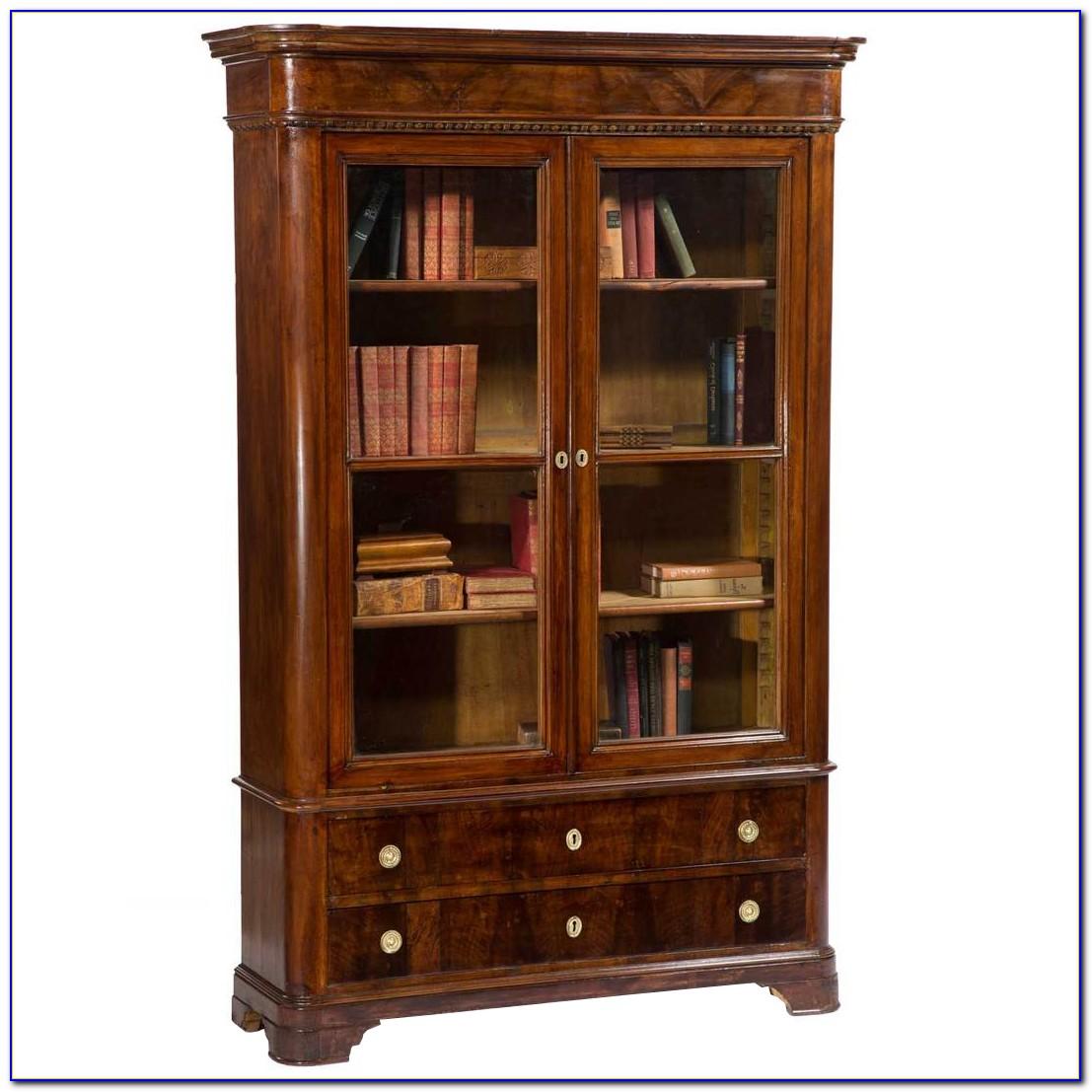 Bookcase With Glass Doors Amazon
