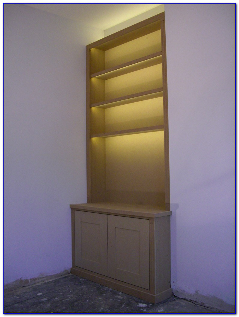 Bookcase With Lights