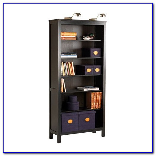 Bookcase With Locking Cabinet