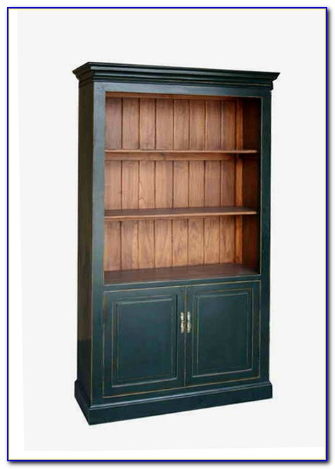 Bookcase With Storage Cabinet