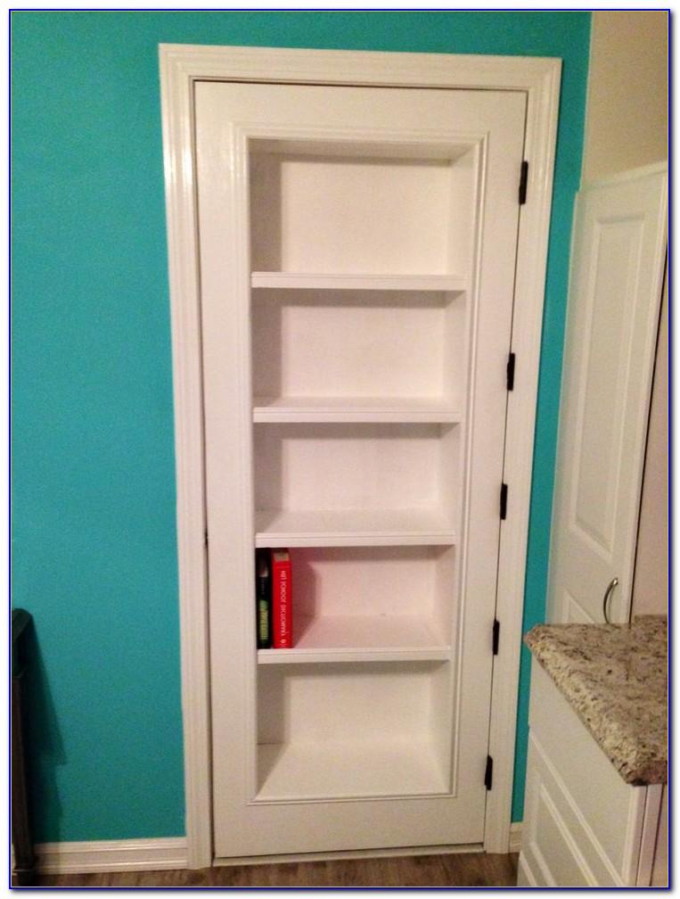 Bookshelf Closet Doors