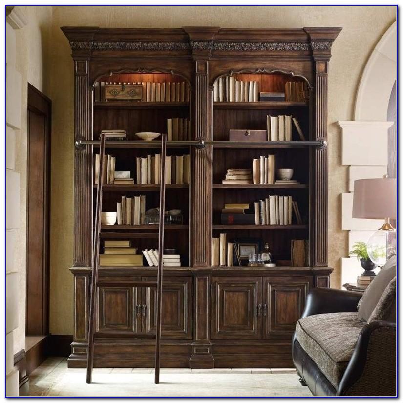 Bookshelf Ladder And Rail