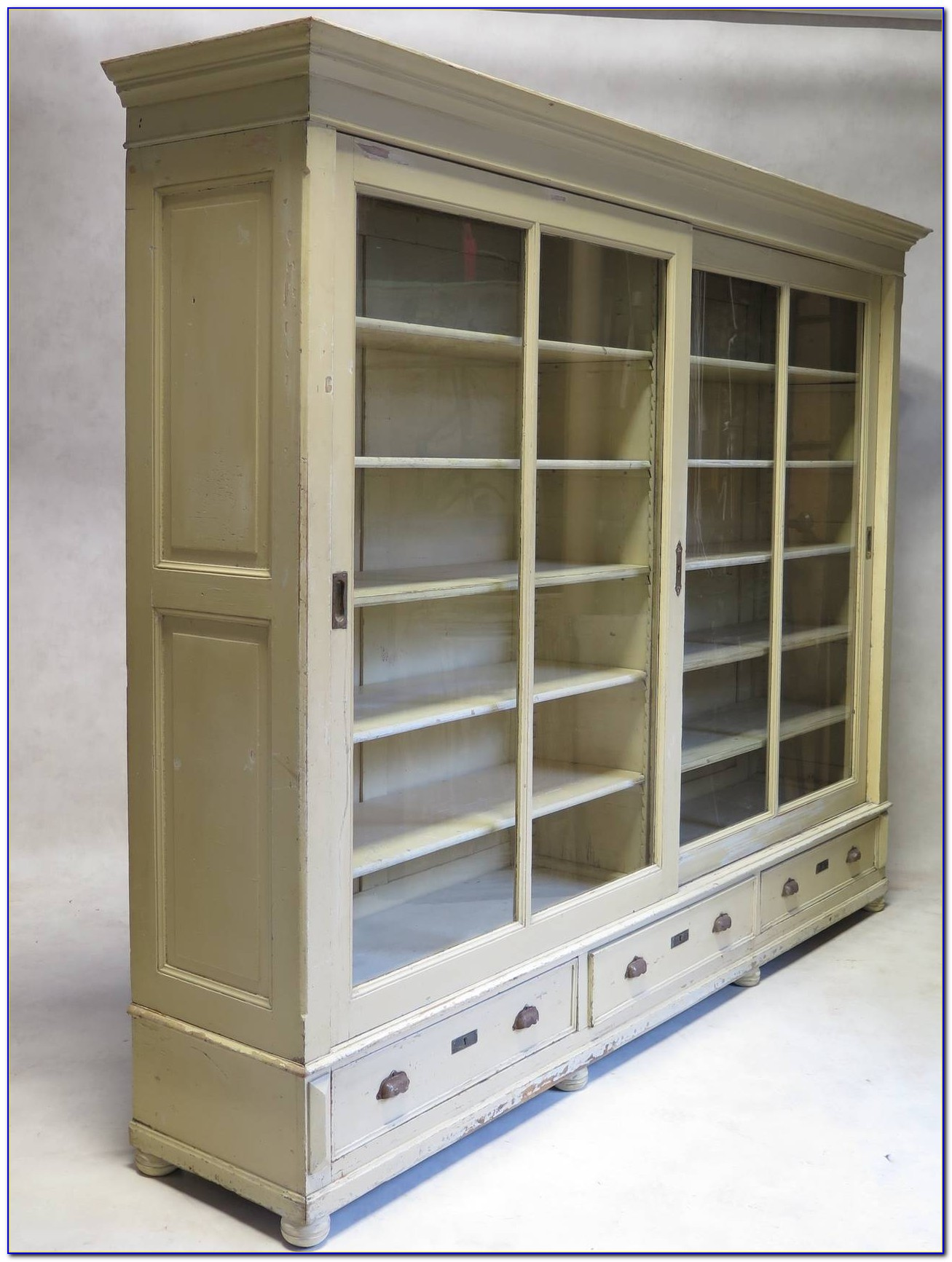 Bookshelves Sliding Doors