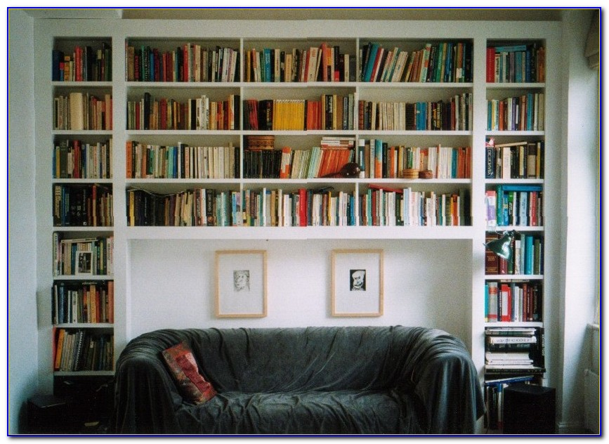 Build A Bookcase Wall