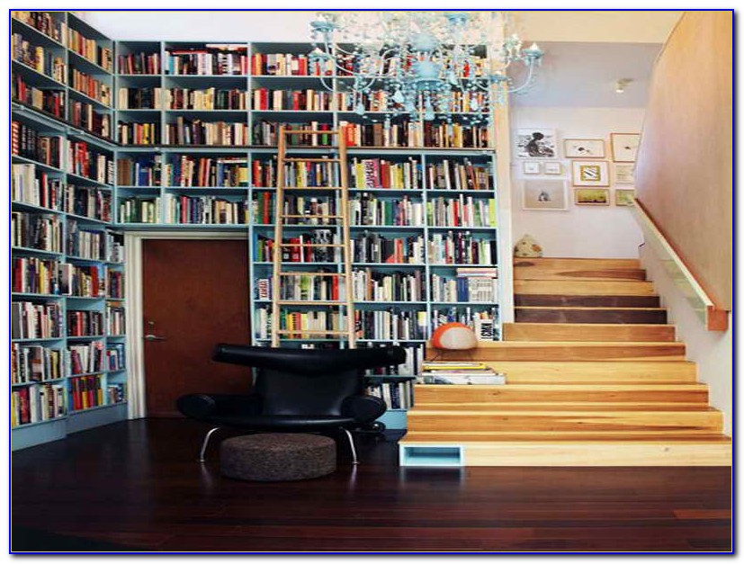 Build Bookshelves Wall