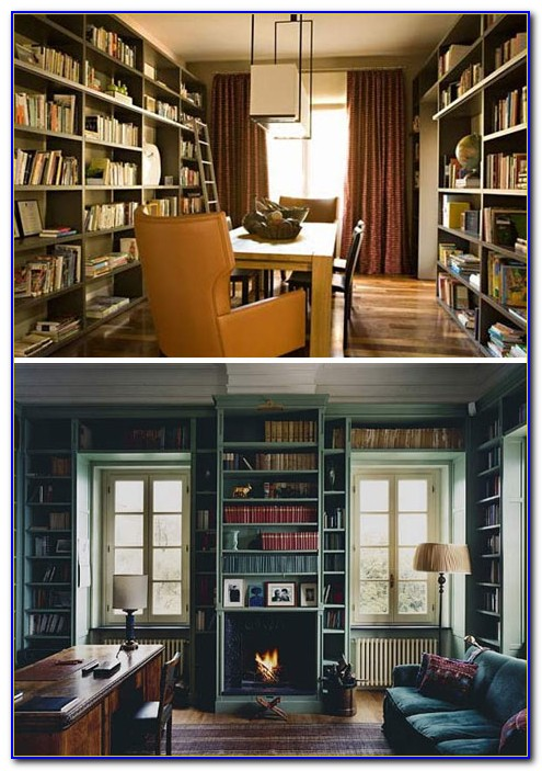 Building Floor To Ceiling Bookcases