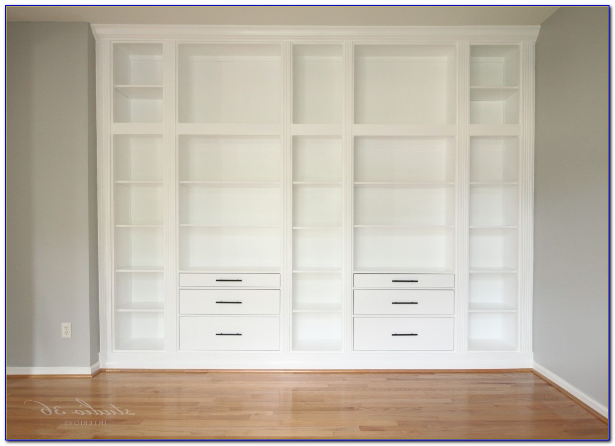 Built In Bookshelves Ikea