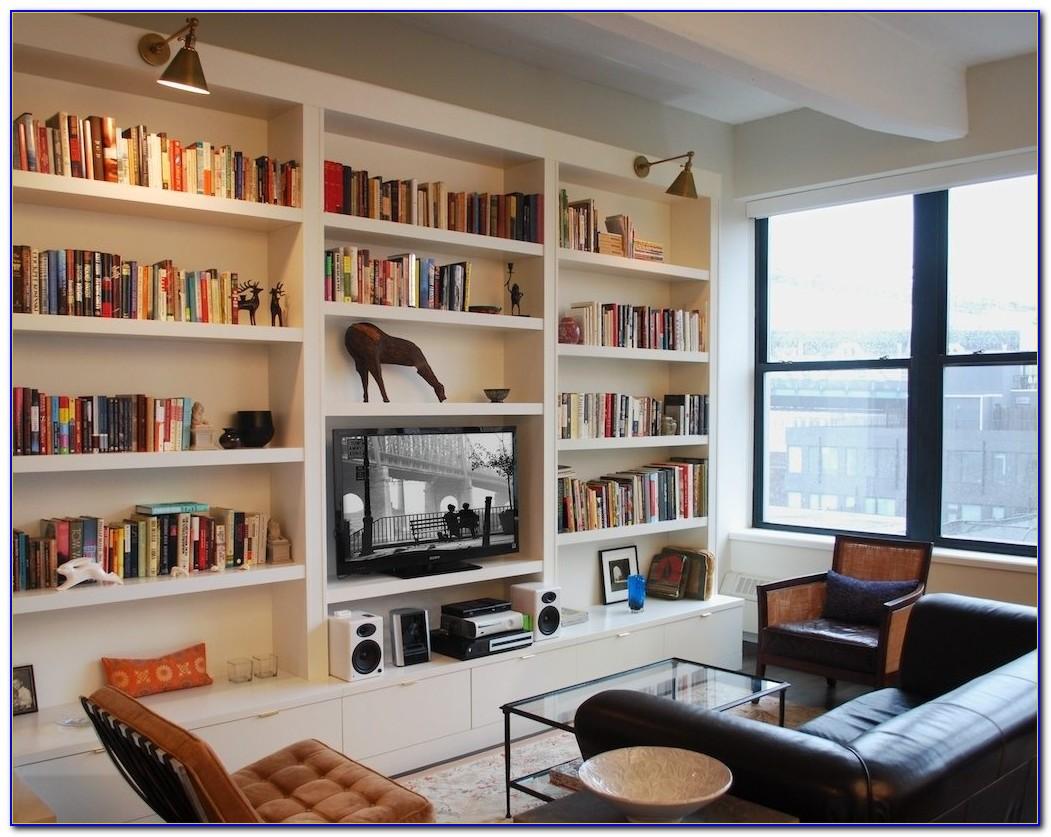 Built In Kitchen Bookcase