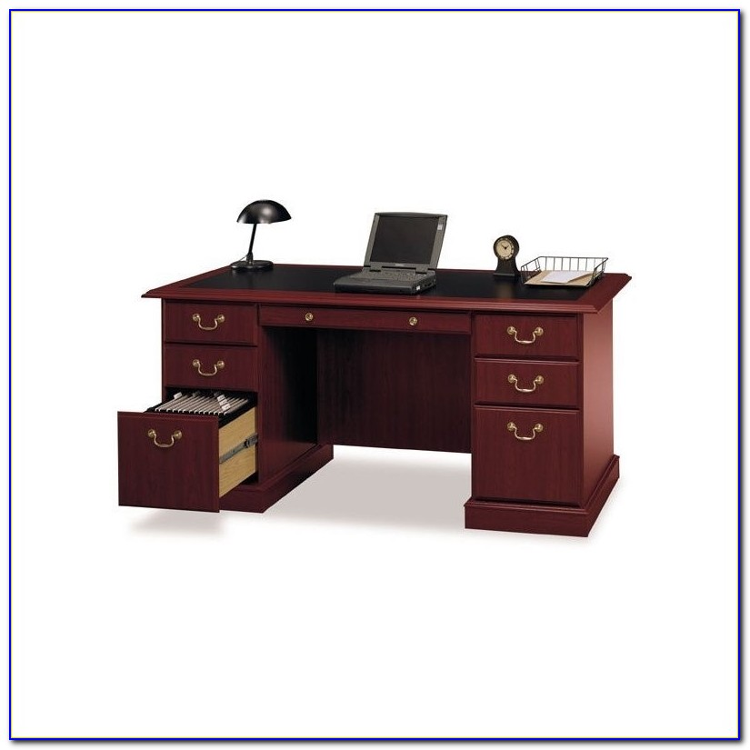 Bush Saratoga Executive Collection Manager's Desk