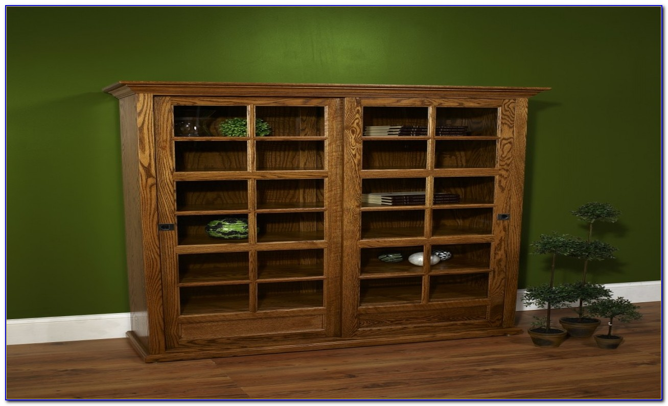 Cherry Wood Shelves Bookcases
