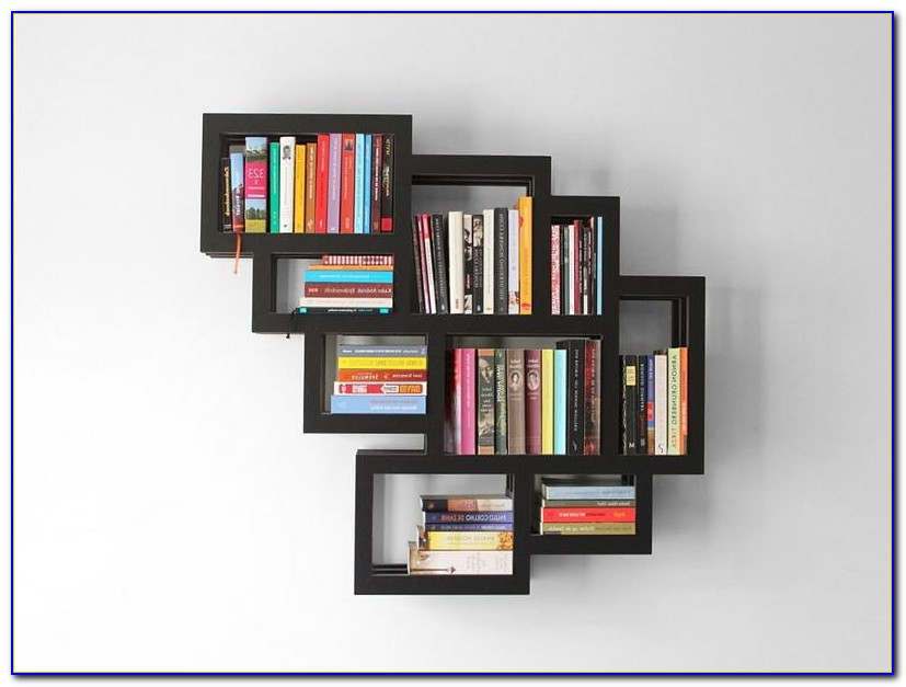 Childrens Wall Hanging Bookcase