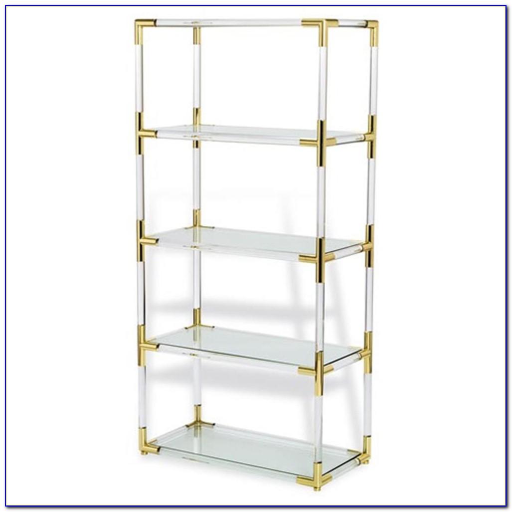 Clear Acrylic Bookcase
