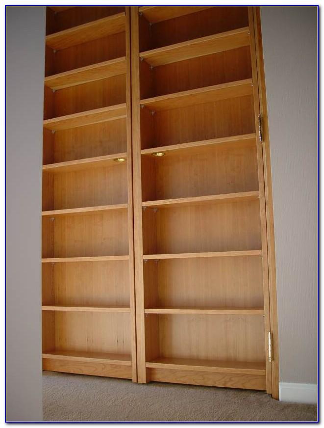 Closet Door Bookcase