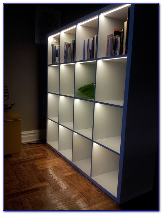 Costco Bookcase With Lights