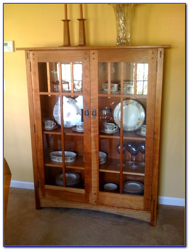 Craftsman Style Fireplace Bookcase