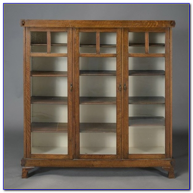 Craftsman Style Shelves