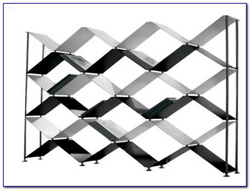 Criss Cross Ladder Bookcase