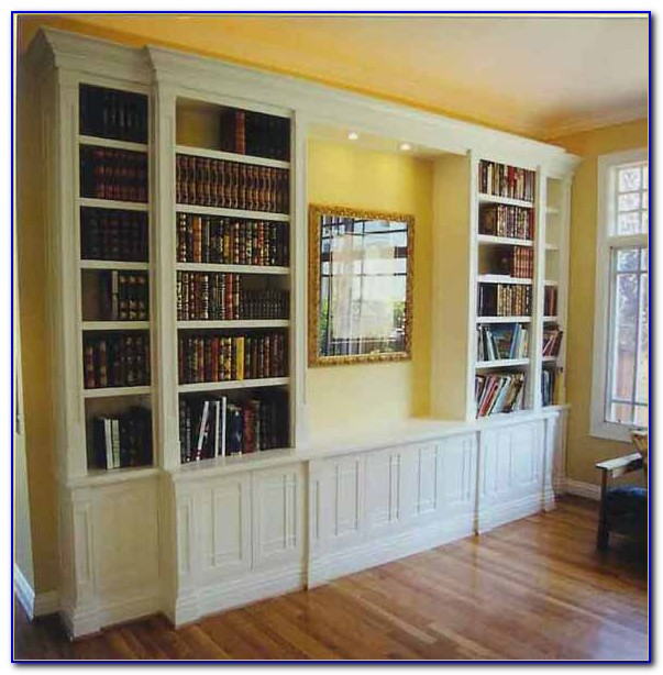Custom Floor To Ceiling Bookcases