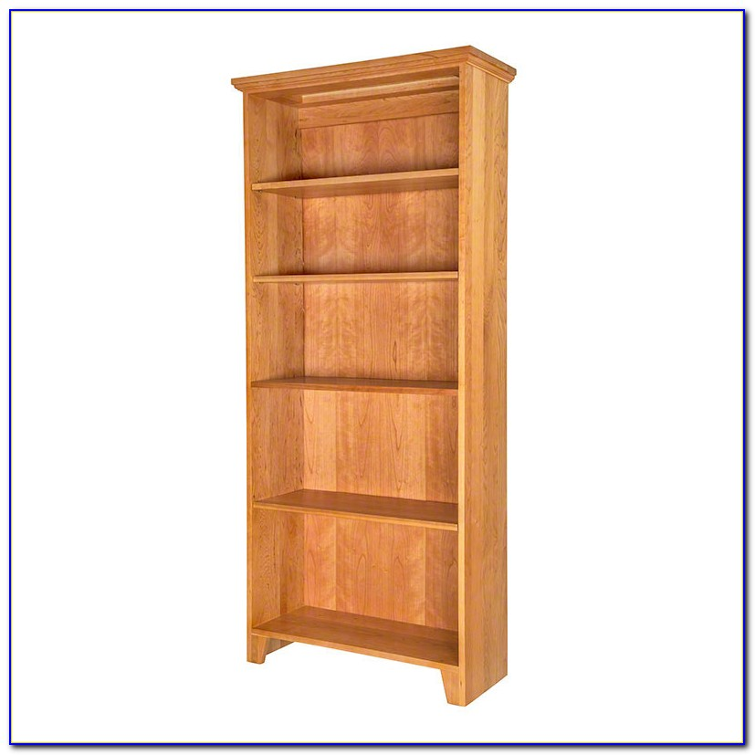 Custom Solid Wood Bookcases