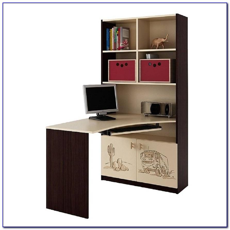 Desk Bookcase Combination