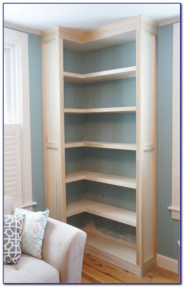Diy Built In Bookcase Ikea