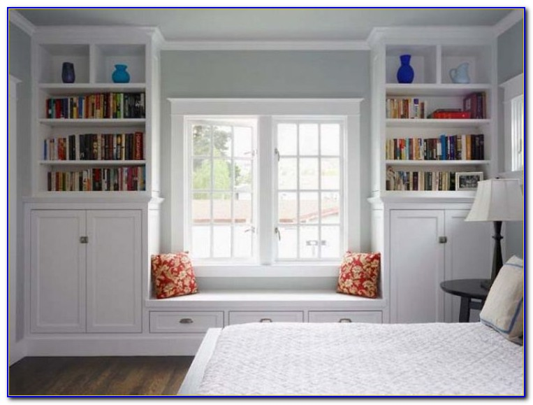 Diy Window Seat Bookcase