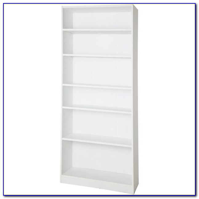 Extra Deep Bookcase White