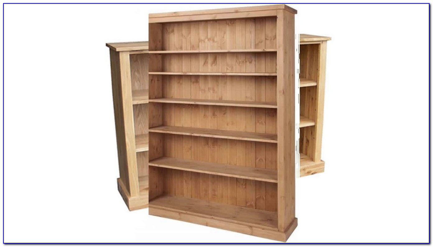 Extra Wide Tall Bookcase