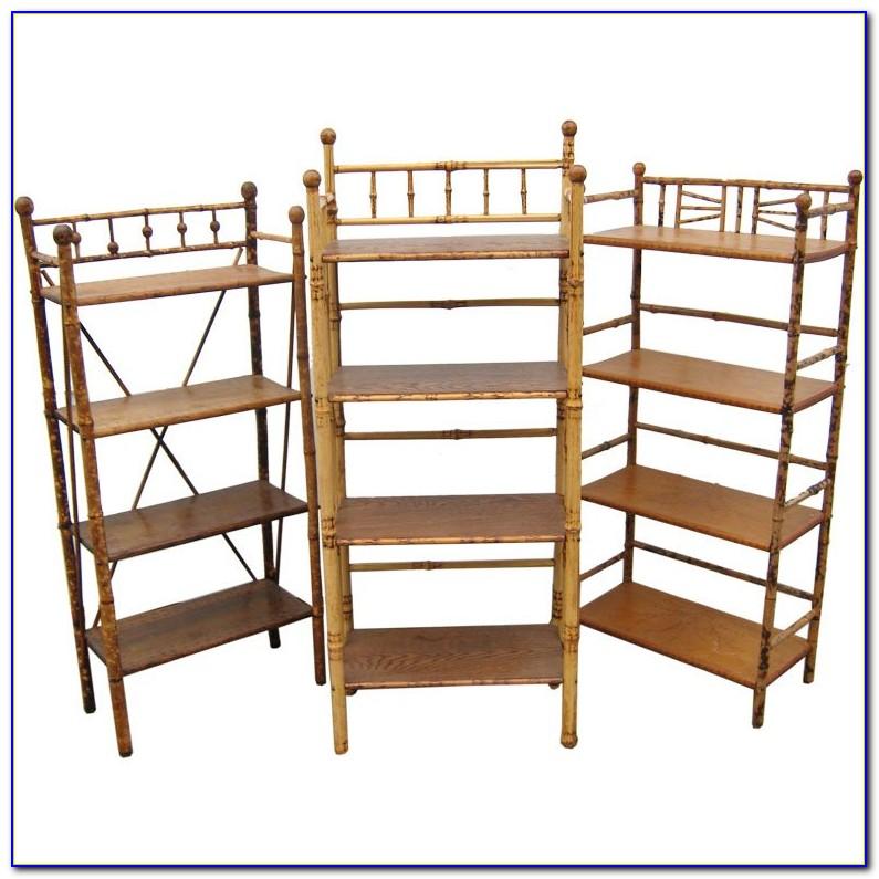 Faux Bamboo Bookshelf