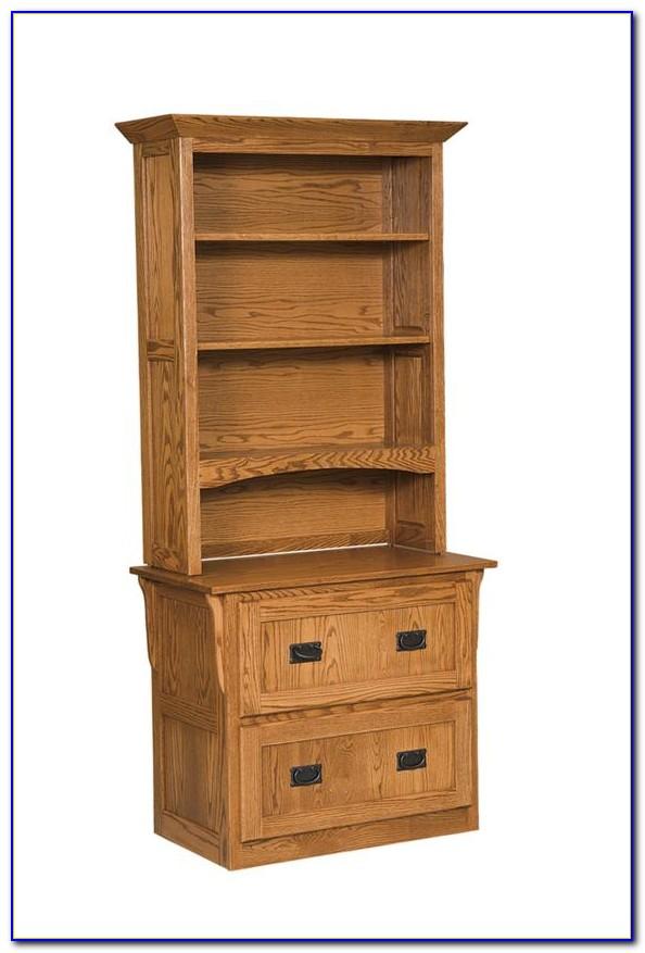File Cabinet Bookcase Combination