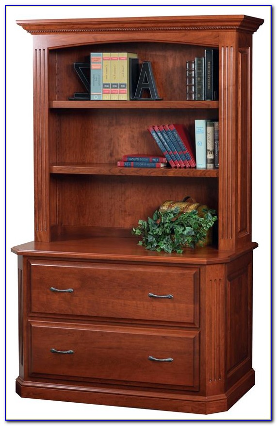 File Cabinet Bookshelf Combo