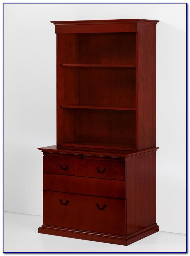 Filing Cabinet Bookcase Combination
