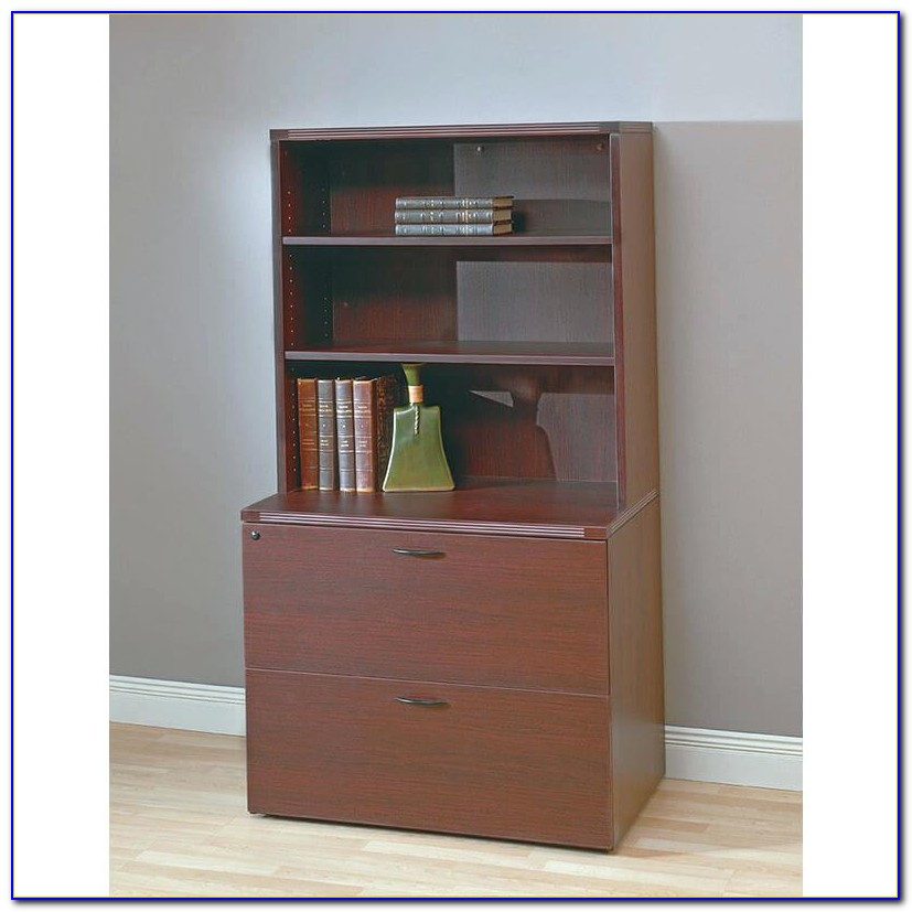 Filing Cabinet Bookcase Combo