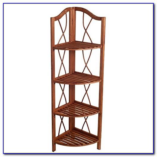 Folding Corner Bookshelves