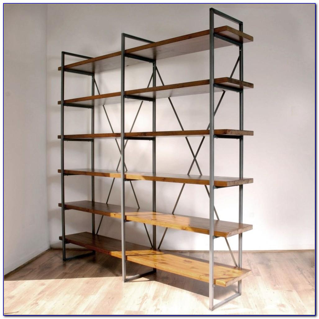 Freestanding Bookcase Room Divider