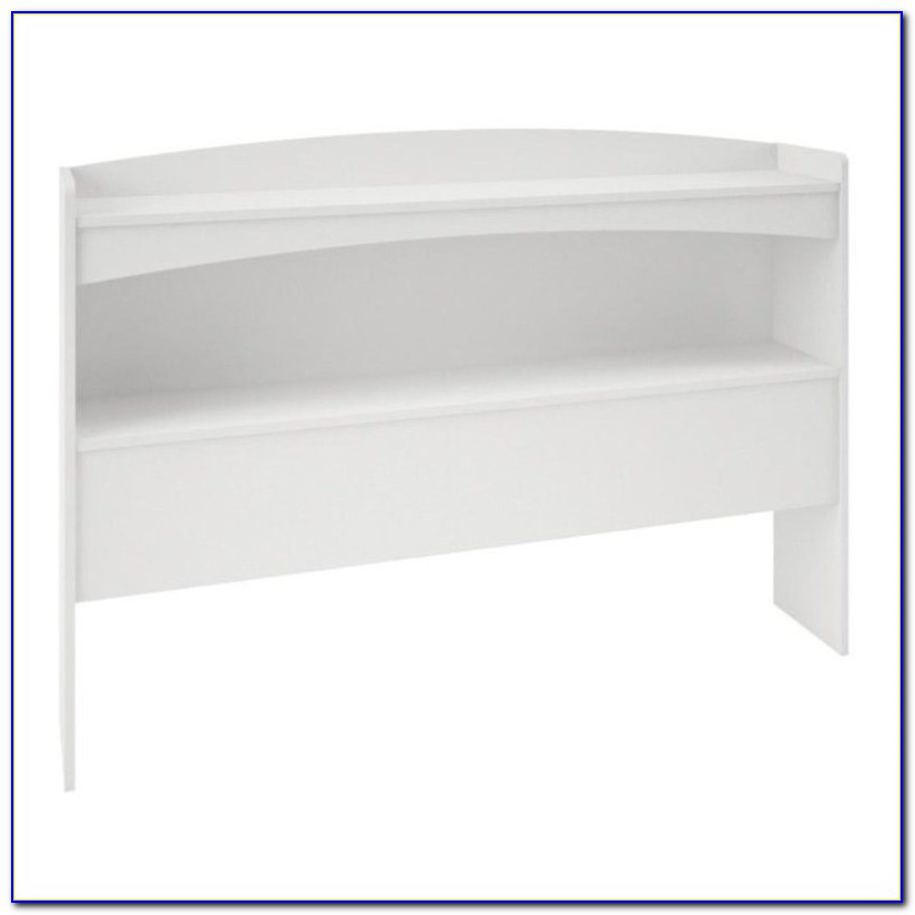 Full Size Bookcase Headboard With Storage