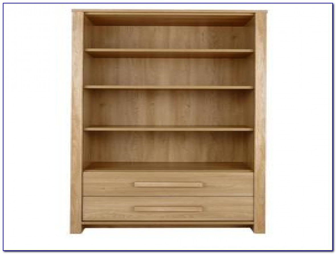 Fully Assembled Bookcase With Doors