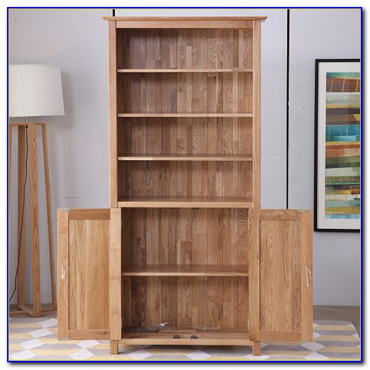 Fully Assembled Wooden Bookcases