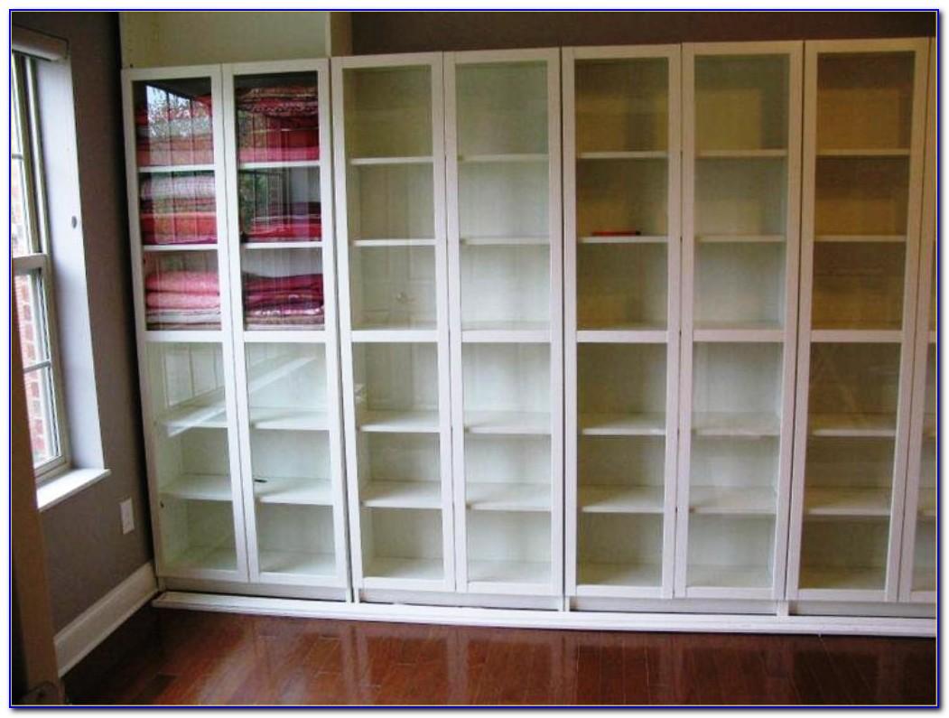 Glass Door Bookshelf Ikea