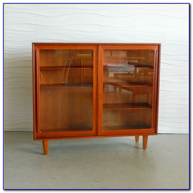 Glass Enclosed Bookcases