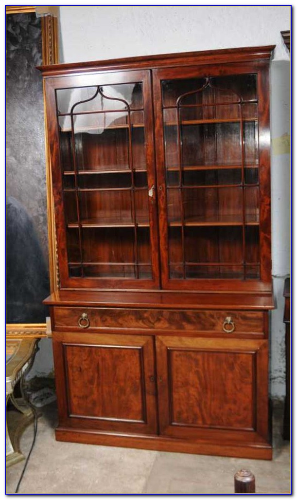 Glass Fronted Bookcase Gumtree