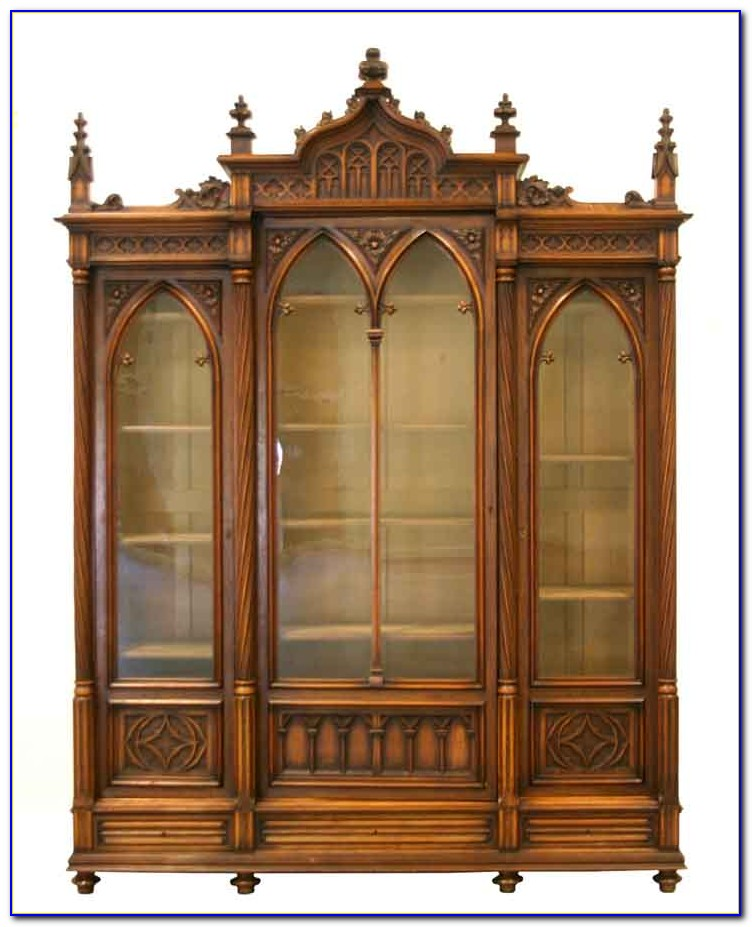 Gothic Cabinet Bookcases