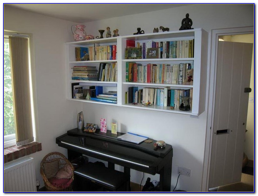 Hanging Wall Bookcase