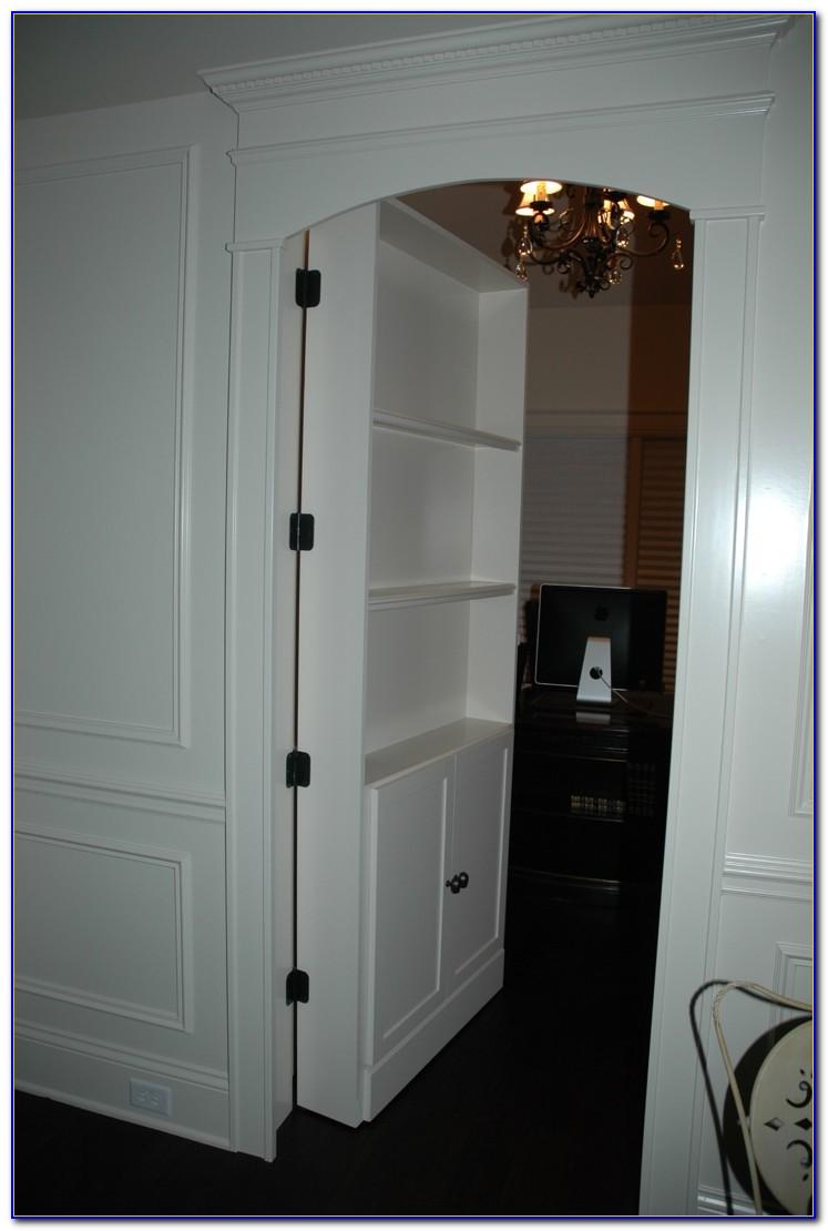 Hidden Bookcase Door Hinges