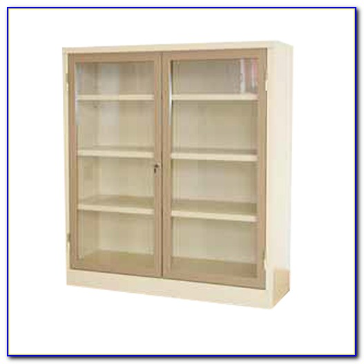 Hinged Bookcase Door