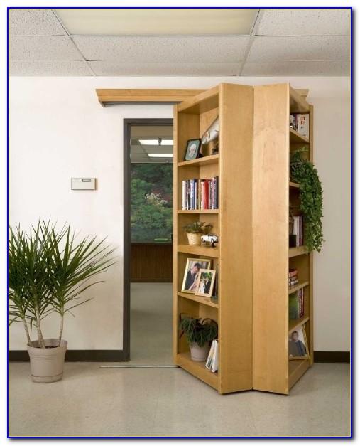 Hinged Bookshelf Door