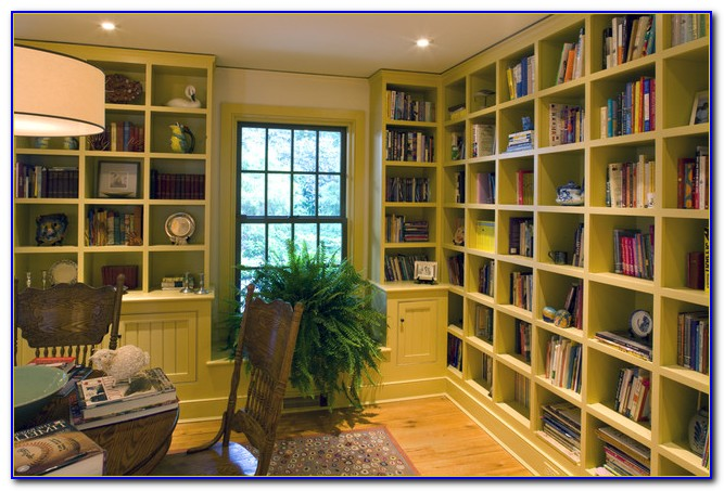 Home Office Bookcase Ideas