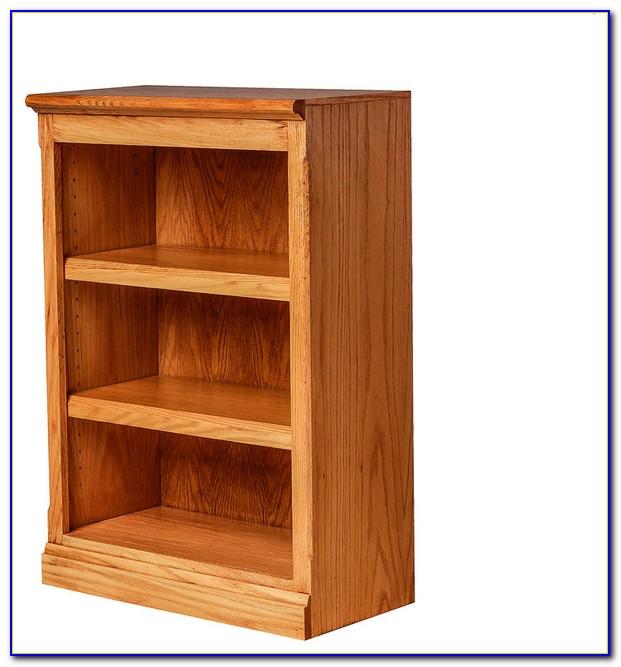 Honey Oak Bookcase