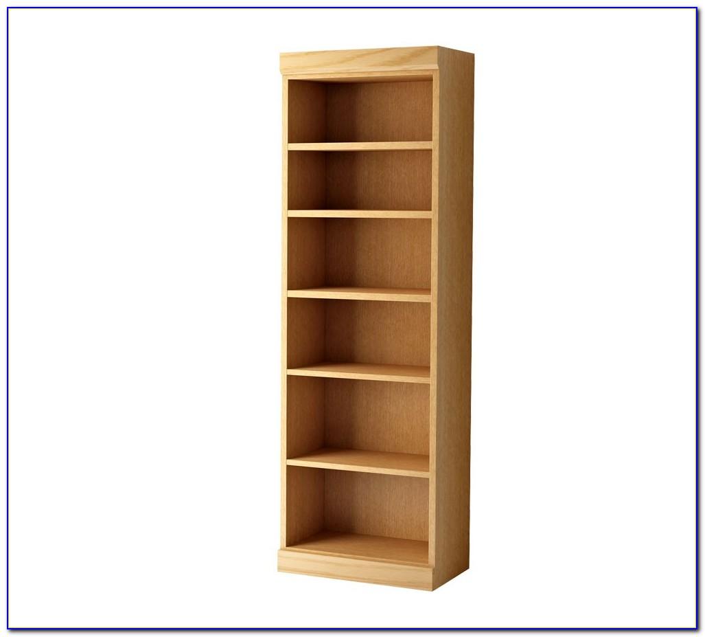 Honey Oak Bookshelf